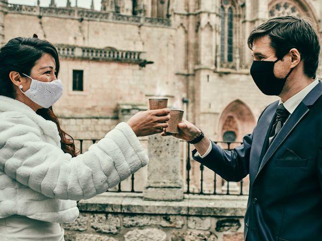 La boda de Eneko y Isabel en Burgos, Burgos 47