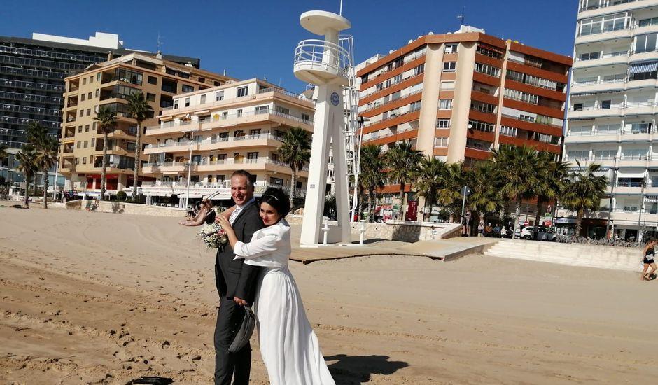 La boda de Marco y Daniela en Calp/calpe, Alicante
