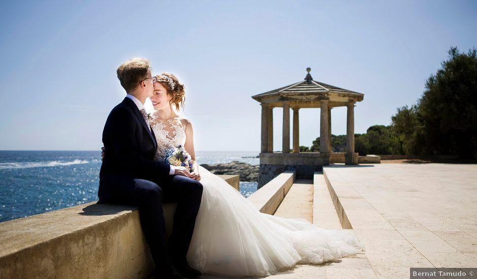 La boda de Arnau y Victòria en S'agaro, Girona