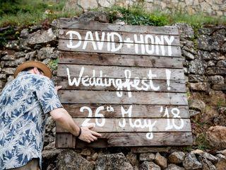 La boda de Honesty y David