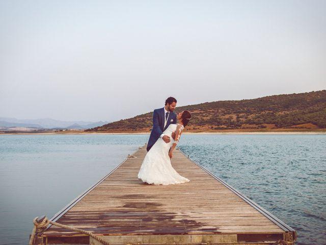 La boda de Francisco y SIberia en Bornos, Cádiz 1