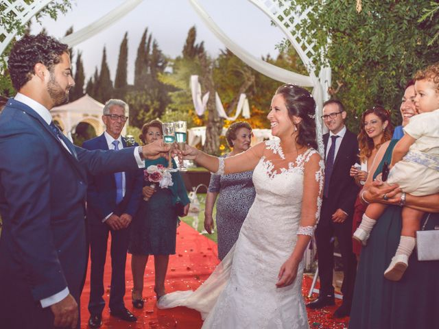 La boda de Francisco y SIberia en Bornos, Cádiz 14