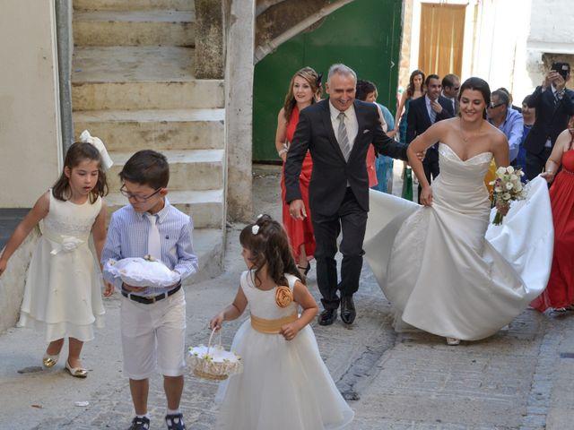 La boda de Gonzalo y Natalia en Valverde Del Fresno, Cáceres 12