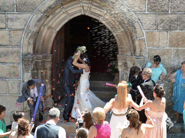 La boda de Gonzalo y Natalia en Valverde Del Fresno, Cáceres 16