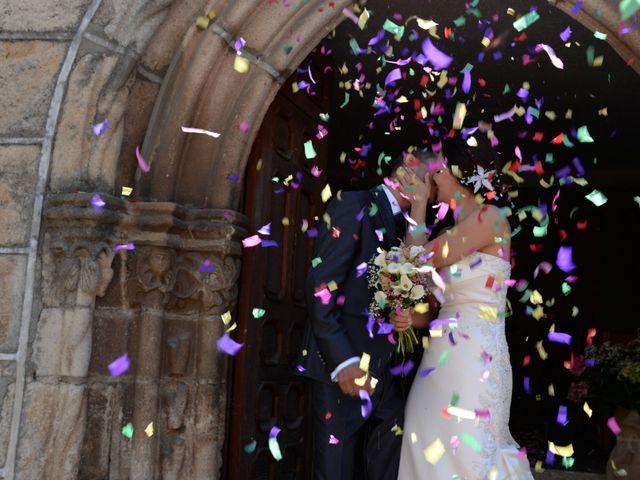 La boda de Gonzalo y Natalia en Valverde Del Fresno, Cáceres 17