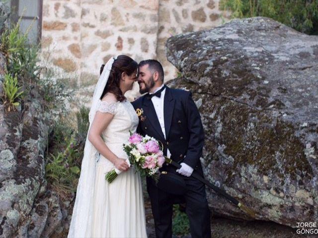 La boda de José Ángel  y Almudena en Navaluenga, Ávila 5