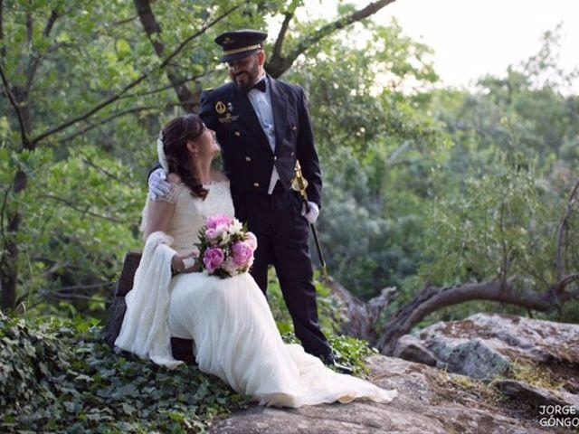 La boda de José Ángel  y Almudena en Navaluenga, Ávila 1
