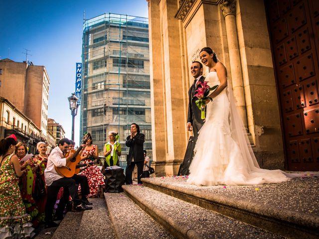La boda de Jesús y Tamara en Salamanca, Salamanca 38