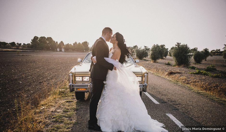 La boda de Angel y Sheila en Villatobas, Toledo