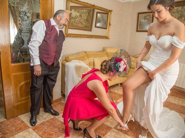 La boda de Vicente y María en Quintanar Del Rey, Cuenca 10
