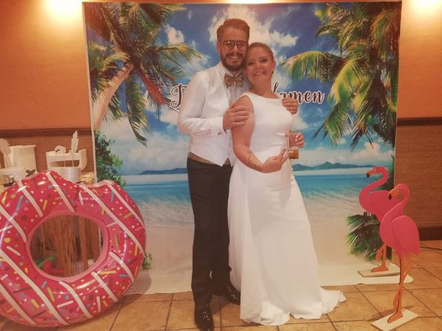 La boda de Mamen  y Domy