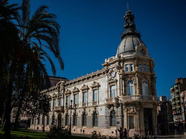 La boda de Jennifer y Fran en Cartagena, Murcia 31