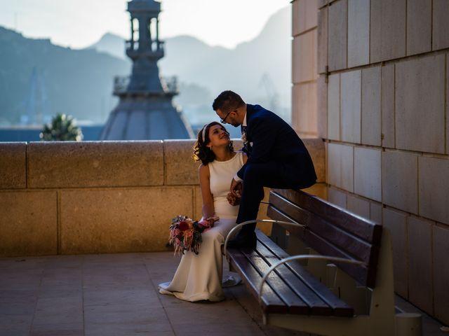 La boda de Jennifer y Fran en Cartagena, Murcia 48
