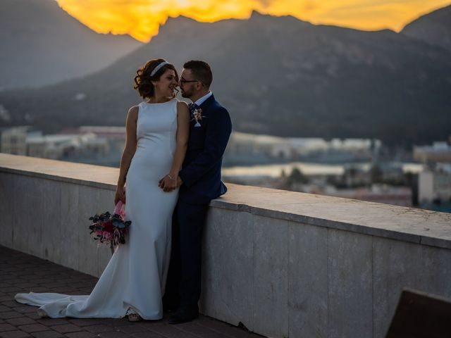 La boda de Jennifer y Fran en Cartagena, Murcia 61