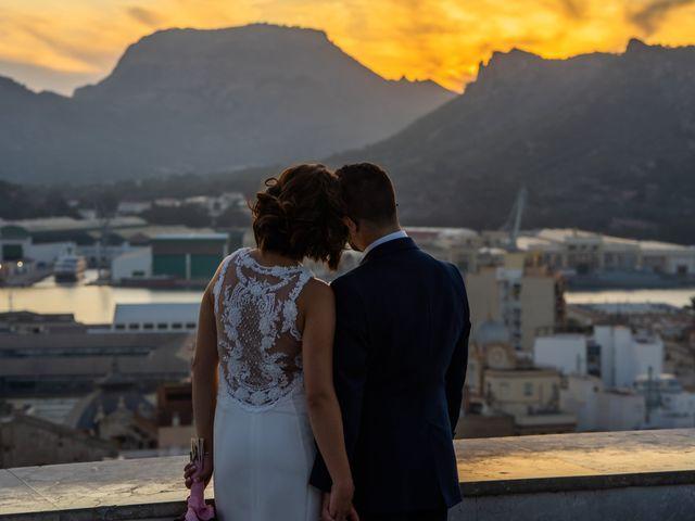 La boda de Jennifer y Fran en Cartagena, Murcia 62