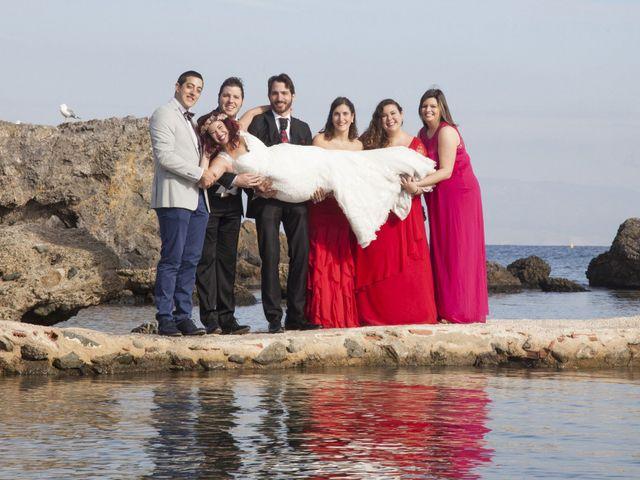 La boda de Javi y Nadia en San Miguel De Salinas, Alicante 2