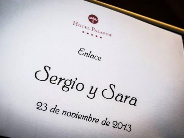 La boda de Sergio y Sara en Zaragoza, Zaragoza 7