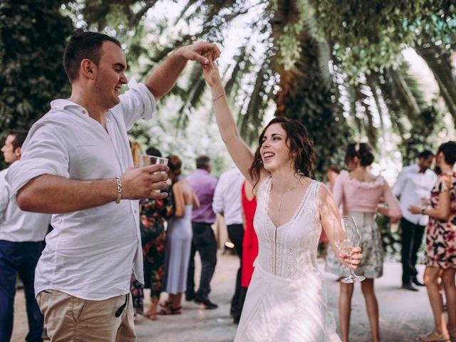 La boda de Guille y Sonia en Alginet, Valencia 203