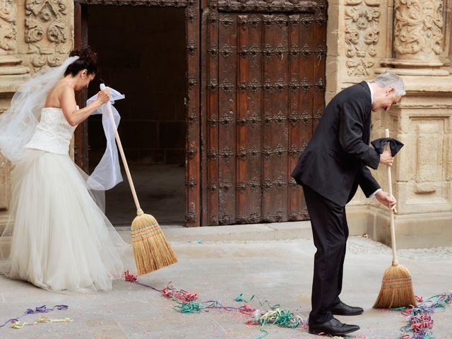 La boda de Arantzatzu y Javier