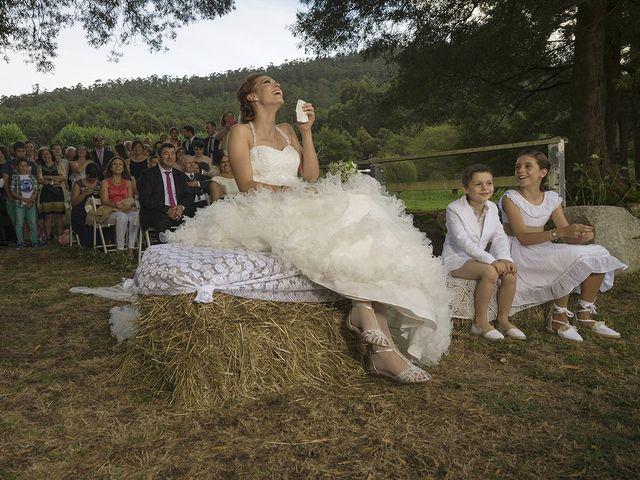 La boda de Bertín y Sheila en Outes, A Coruña 35