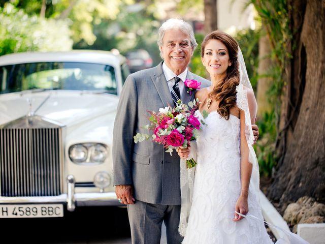 La boda de David y Danae en Marbella, Málaga 15