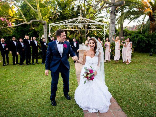 La boda de David y Danae en Marbella, Málaga 52