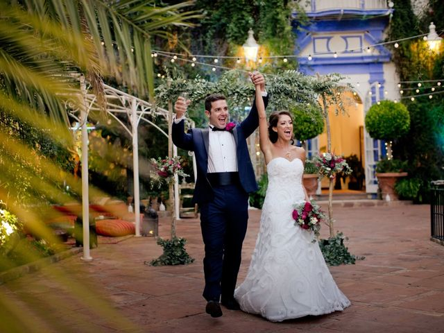 La boda de David y Danae en Marbella, Málaga 61