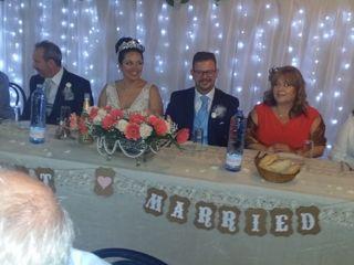 La boda de Cathaysa  y Nelson