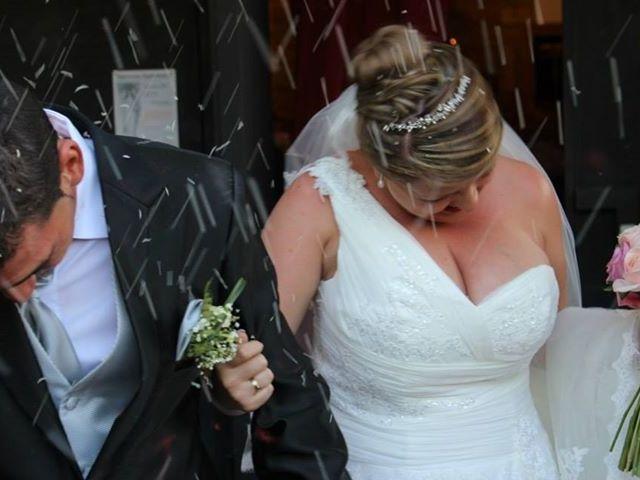 La boda de David y Lorena en Esquivias, Toledo 23