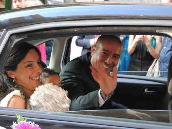 La boda de Agueda y Cleto