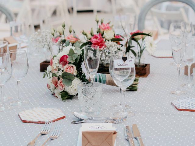 La boda de Carlos y Carolina en La Pineda, Tarragona 42