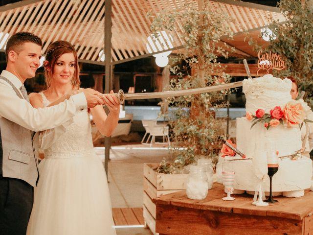 La boda de Carlos y Carolina en La Pineda, Tarragona 54