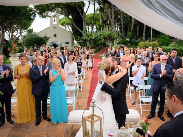 La boda de guillen y Sara en Sant Vicenç De Montalt, Barcelona 12