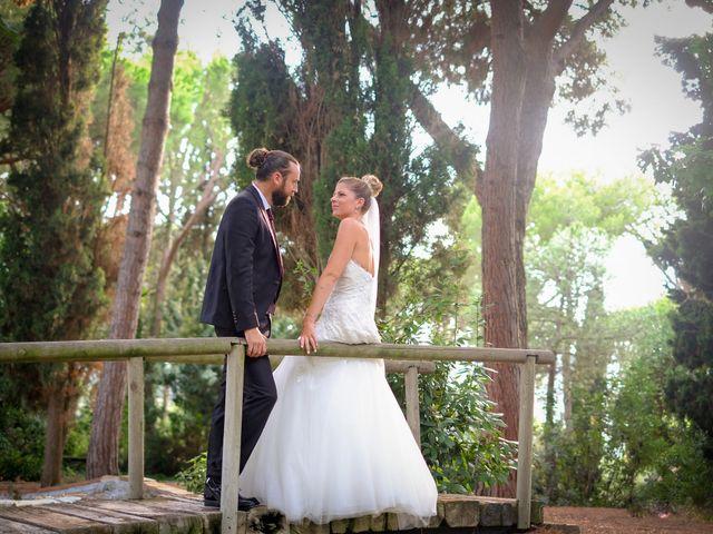 La boda de guillen y Sara en Sant Vicenç De Montalt, Barcelona 17