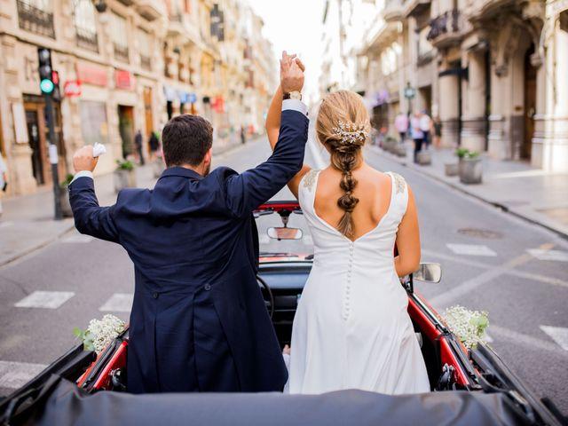 La boda de Edu y Aroa en Picassent, Valencia 43