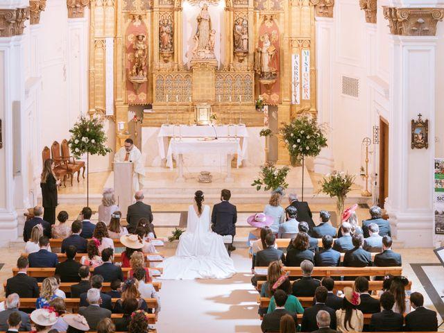 La boda de Alberto y Marga en El Burgo De Ebro, Zaragoza 18