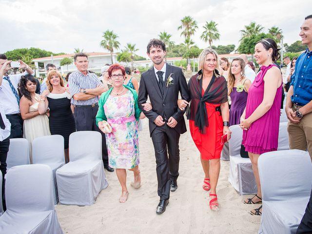 La boda de Raül y Eva en Cambrils, Tarragona 17