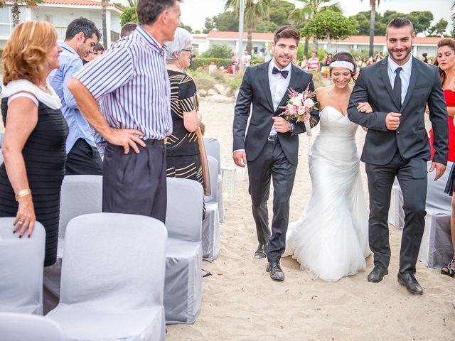 La boda de Raül y Eva en Cambrils, Tarragona 19