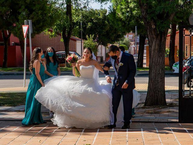 La boda de Claudio y Alejandra en Leganés, Madrid 12