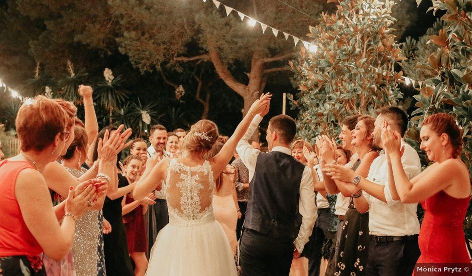 La boda de Carlos y Carolina en La Pineda, Tarragona