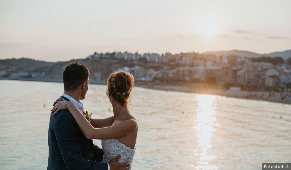La boda de Alberto y Lorena en Arenys De Mar, Barcelona