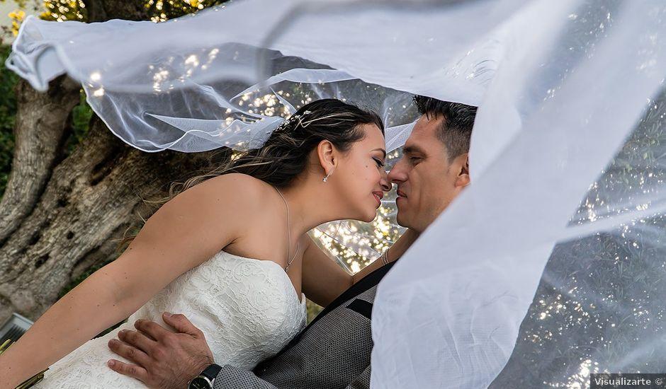 La boda de Claudio y Alejandra en Leganés, Madrid