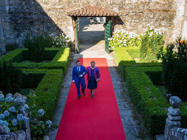 La boda de Sebas y Isabel en Ferreira De Panton (Sta Maria), Lugo 12