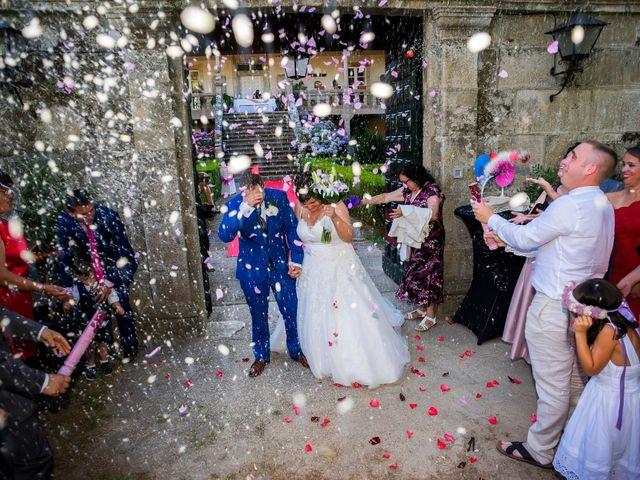 La boda de Sebas y Isabel en Ferreira De Panton (Sta Maria), Lugo 26