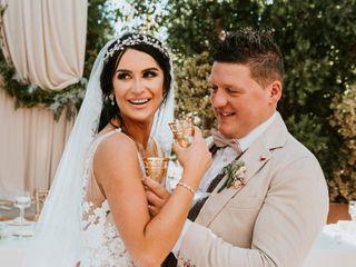 La boda de Michelle y Ryan