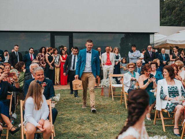 La boda de Oscar y Noa en Raxó (Poio), Pontevedra 14