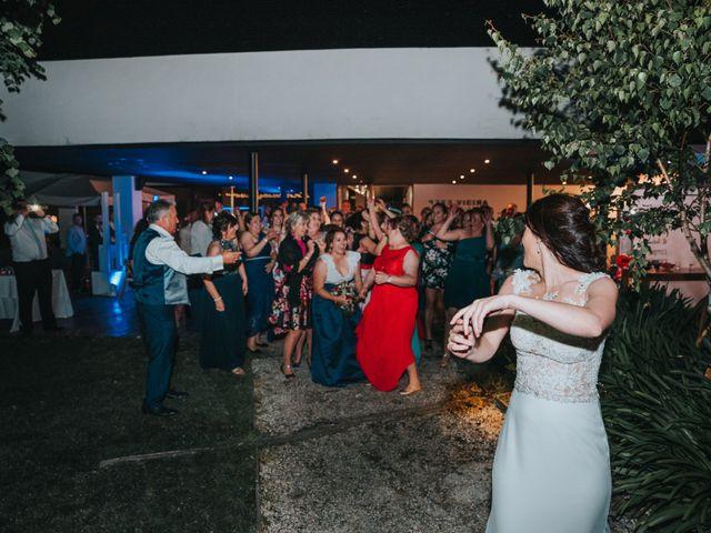 La boda de Oscar y Noa en Raxó (Poio), Pontevedra 43