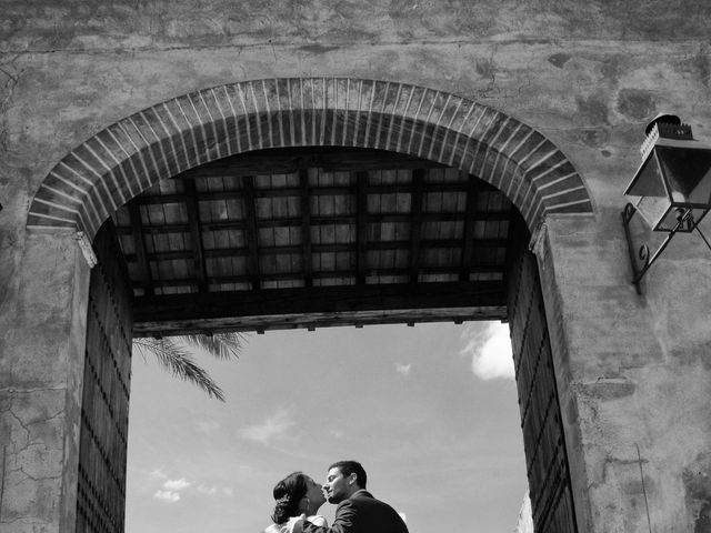 La boda de MªAngeles y Manuel en Mairena Del Alcor, Sevilla 2
