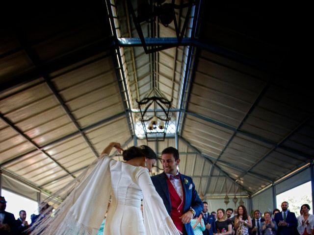 La boda de MªAngeles y Manuel en Mairena Del Alcor, Sevilla 77