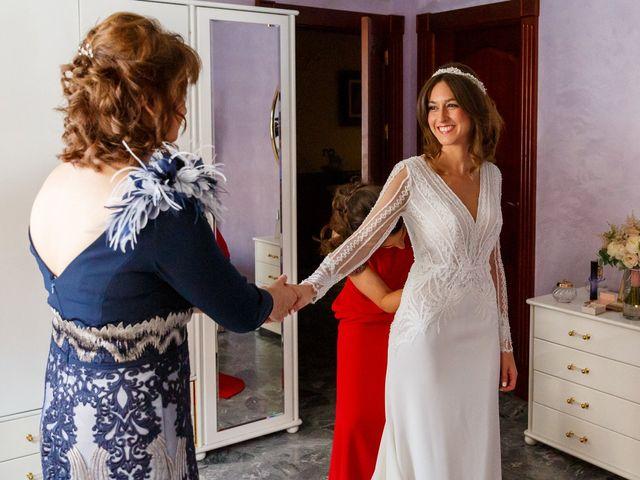 La boda de Juan y Virginia en Fuente Vaqueros, Granada 12